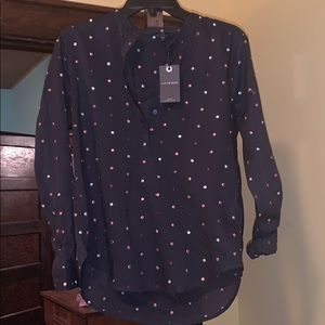 Colorful Button up NWT
